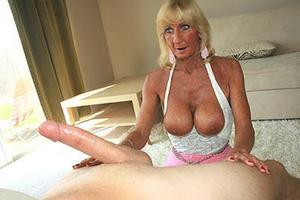 Granny Sugar Handjob