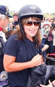 Sarah Palin at The Rolling Thunder Motorcycle Rally in Washington, D.C. on May 29, 2011