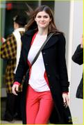 Alexandra Daddario @ Global's Morning Show in Toronto - December 13, 2012