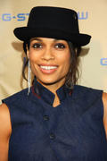 "Rosario Dawson in jeans @ G-Star's ""Women's Night"", LA 11-08-2011"