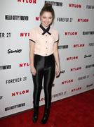 Sammi Hanratty - Nylon Magazine October It Issue launch in West Hollywood 10/15/12