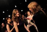 Эмми Россам, фото 3302. Emmy Rossum - Donna Karan Fall 2012 fashion show in New York 02/13/12, foto 3302